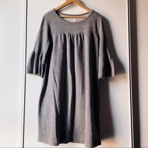 Current Elliot heather grey Abigail Knit dress